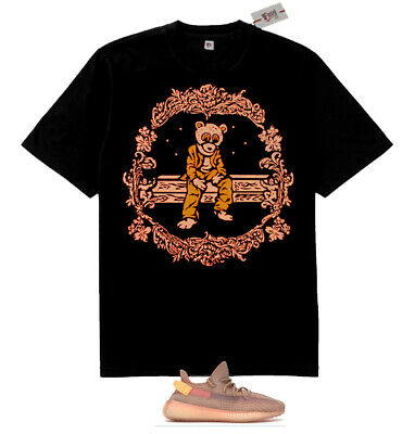1fa3759401920 New Kanye west Dropout Bear Tan shirt to match for Yeezy Boost 350 V2 Clay