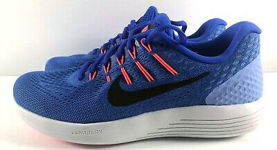 936456676f0c NIKE Lunarglide 8 Womens Running Shoes Blue Black White AA8677 406 NEW Size  7.5