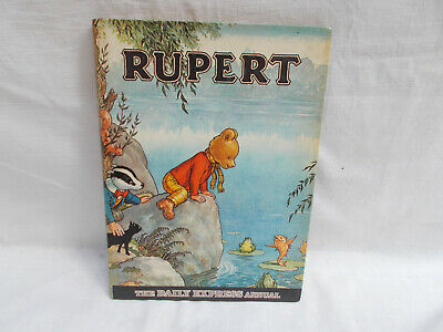 Vintage Rupert The Daily Express Annual From 1969