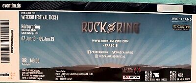 Weekend (7.6-9.6)Festival Tickets Rock am Ring 2019