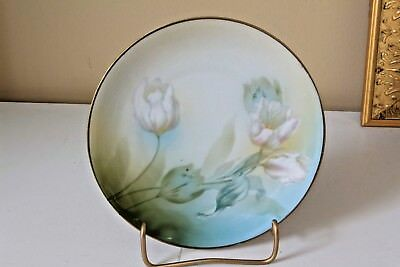 """Beautiful Antique RS Germany Hand Painted Porcelain Plate 6.5"""""""