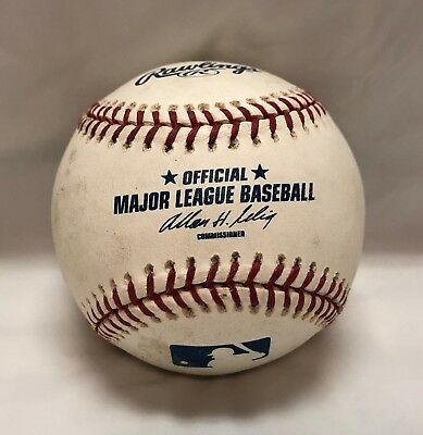 3b9542d5ffd REAL AUTHENTIC OFFICIAL Rawlings Major League Baseball MLB Ball Used ...