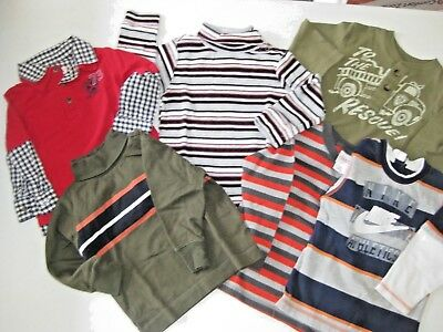 Lot  6  18/24 Months Toddler Long Sleeve Tops Nike, Old Navy Garanimals Cherokee