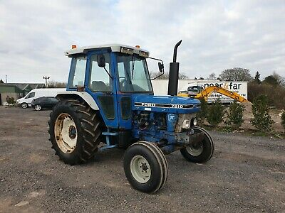 ford 7610 tractor delivery arranged / finance / part ex