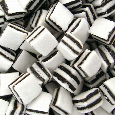 Black & White Mints Retro Sweets Party Wedding Favours Candy Buffet Pick n Mix