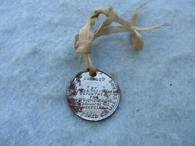 WWI US Home Front Victory Liberty Loan Coin with Ribbon WW1