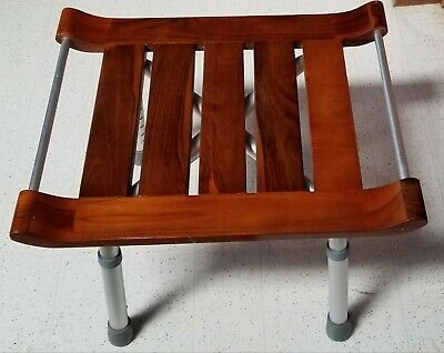 Sensational Wooden Shower Stool Teak Wood Bathroom Bench Seat Bath Spa Sauna Chair Download Free Architecture Designs Grimeyleaguecom