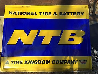 LARGE TIRE SIGN- NTB. National Tire And Battery