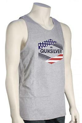 c4697de86a430 QUIKSILVER MENS STARS   Stripes T-Shirt - White -  17.48