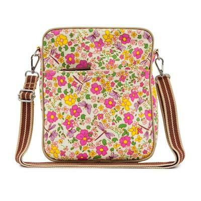 Pink Lining Out And About Mini Messager Sac à Langer (Cottage Jardin)