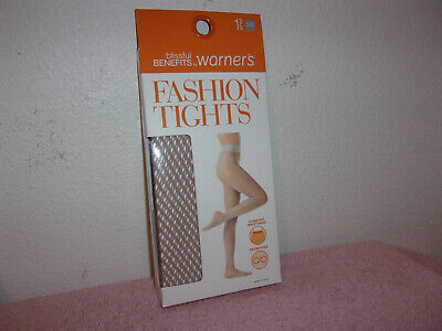 90a4e776dce66 Brand New Lady's Warner's Blissful Benefits Fashion Texture Tawny Color  Tights