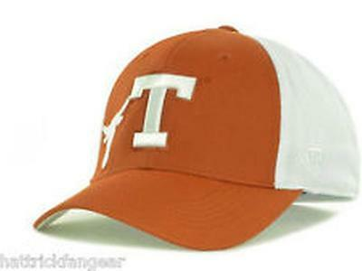 sneakers for cheap a66b6 d2127 Texas Longhorns NCAA Top of the World NCAA Orange White Flex fit Cap Hat