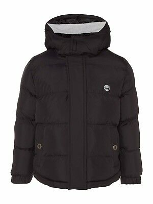 Timberland Boys Padded Jacket Black Age 8 Years rrp £89 DH172 LL 01