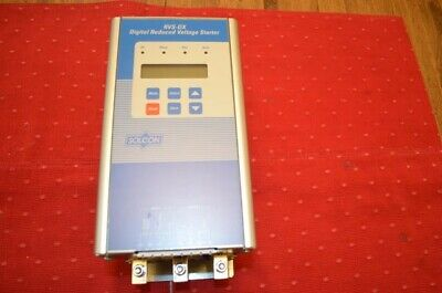 Solcon RVS DX 72 Amp 60 HP 480 VAC Solid State Reduced Voltage Motor Starter 3P