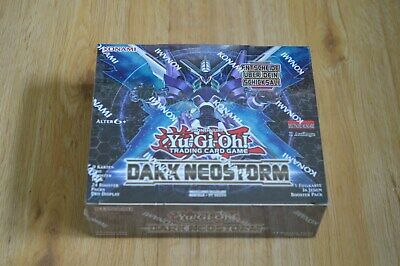 Yu-Gi-Oh! Dark Neostorm 24 Booster Display Deutsch 1. Auflage Neu & OVP
