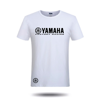 Yamaha Factory T Shirt MotoGP YZF-R6 Motorcycle Motorbike Mens Unofficial YZR-M1