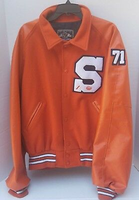 ORIGINAL HOLLOWAY VARSITY Jacket Mens RED Football 3D