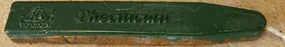1-Green/Gold, 1-Solid Green Sealing Wax - 2 Oversize Sticks total (Clearance)