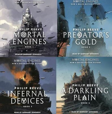 Mortal Engines Audiobook Collection (4 audiobooks) Philip Reeve (Audiobook)