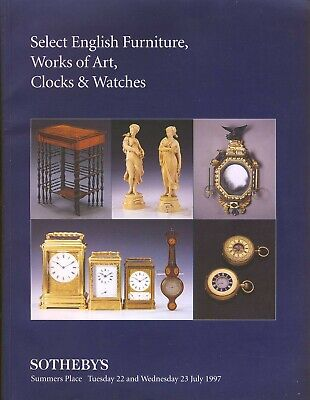 SOTHEBY'S English Furniture, Art, Clocks, Watches auction catalogue r1-21