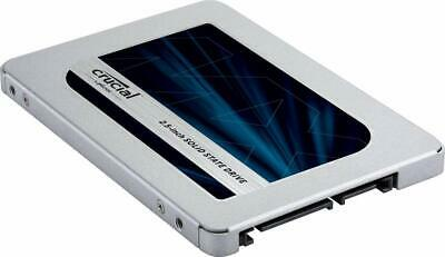 "Crucial 500GB MX500 Internal SSD (CT500MX500SSD1) SATA 2.5"" with 9.5mm adapter"