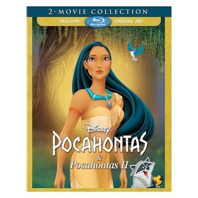 Buena Vista Home Video Br143719 Pocahontas-2 Movie Collection (Blu-Ray/Digita...