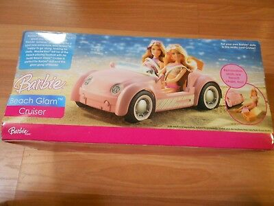2006 Mattel Barbie Beach Glam Cruiser ~ PINK ~ REMOVABLE SEATS ~ SUITCASE