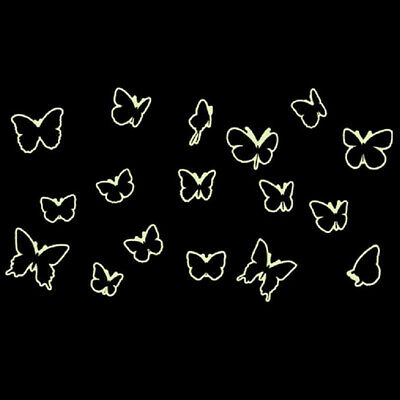 Luminous Wall Sticker Butterfly Decal Chidlren Bedroom Stickers Creative Decor D