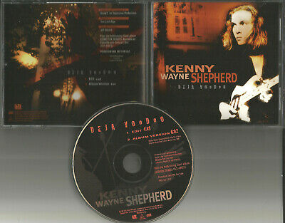 KENNY WAYNE SHEPHERD Deja Voodoo 2TRX w/ RARE EDIT PROMO CD Single 1995 USA MINT