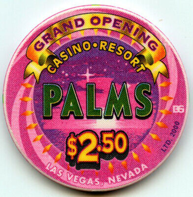 Palms Hotel & Casino, Las Vegas - $2.50 Chip -Grand Opening - 2001