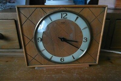 smiths sectric 240v carriage clock