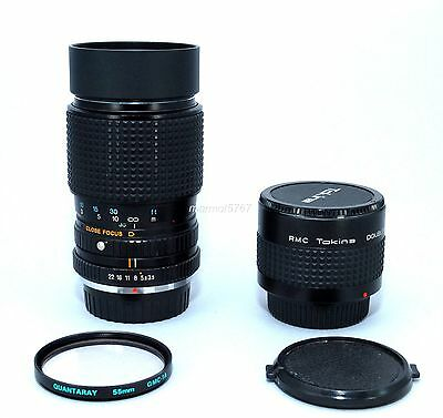 TOKINA/PENTAX PK 35-105mm f3.5~4.5 LENS w/2x! 90-DAY WARRANTY! EXCELLENT PLUS!