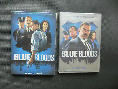 Blue Bloods Season 1 & 2 DVd Factory Sealed Brand New Tom Selleck