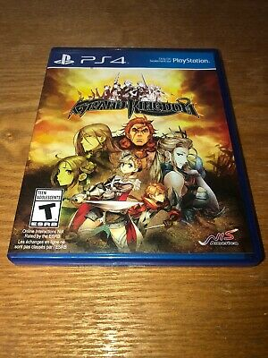 Grand Kingdom - Sony PlayStation 4 PS4 Mint Disc, Fast Shipping