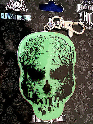 New Pin Trading Lanyard Medal Disney HAUNTED MANSION SKULL CEMETERY GHOST