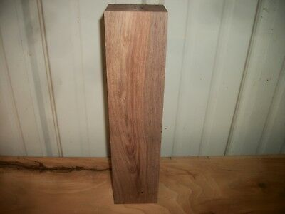 "1 Pc Walnut Lumber Wood Lot 33Y Carving Turning Blank 13 1/4""X 3 1/8""X 2 3/4"""