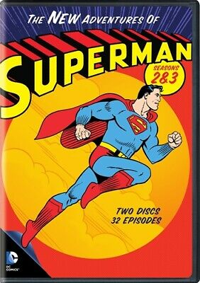 THE NEW ADVENTURES OF SUPERMAN SEASONS 2 & 3 New DVD 1960s Animated TV Series