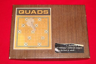 Vintage Armin Speer 1969 QUADS Game Fascinating Game of Strategy for 2 Players