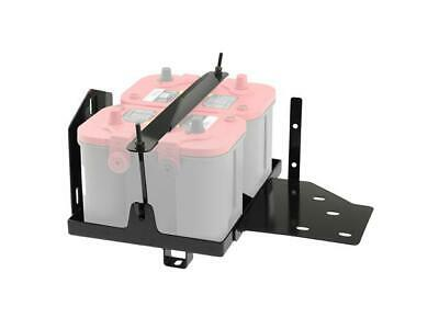 Smittybilt Dual Battery Tray Optima Only For Jeep 07 to 2011 Wrangler JK S/B2799