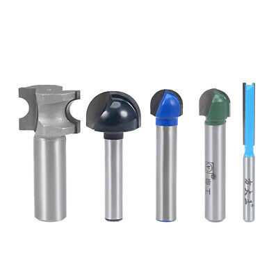 Router Bit Straight Flutes HSS for Woodworking Milling Cutter Tool