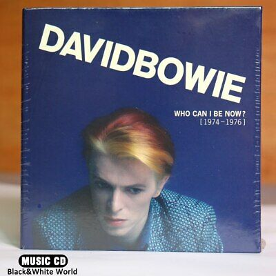David Bowie Che Posso Essere Ora CD 1974 A 1976 NEW Sealed 12CDe Fabbrica New