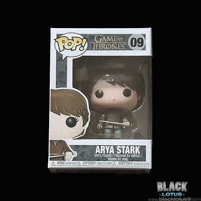 Funko Pop! Arya Stark Game of Thrones Pop Season 8 09 Needle Gendry Jaqen H'ghar