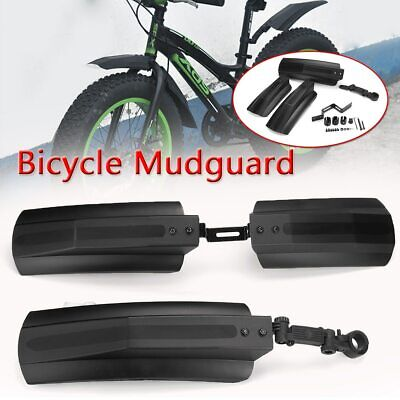 MTB Mud Guard Snow Bicycle Bike Protective Front Rear Fat Tire Cycling Fenders