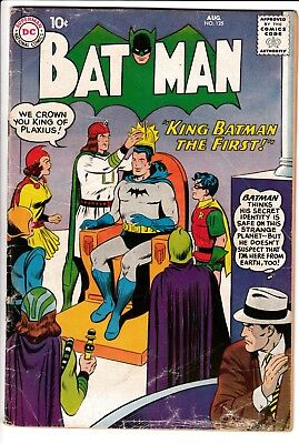 BATMAN #125, DC Comics (1959)
