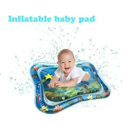 Inflatable Baby Water Mat Novelty Kids Children Activity Center Play Fun Toys US