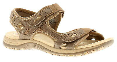 Earth Spirit Frisco Womens Ladies Sandals Brown UK Size