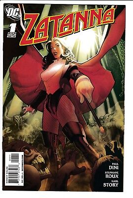 ZATANNA #1, 1ST APP OF BROTHER NIGHT, Paul DINI, DC Comics (2010)