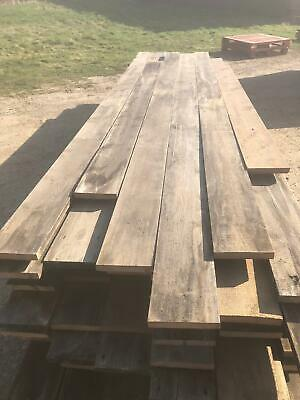 Reclaimed 7 Inch Wide Victorian Pine Flooring Cladding  -  Warwick Reclamation