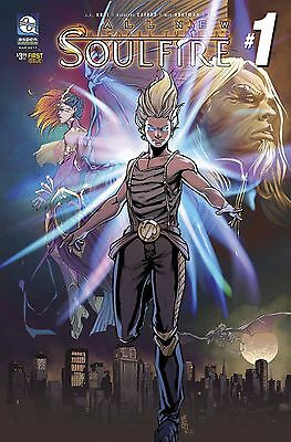 ALL NEW SOULFIRE #1, COVER A CAFARO, New, Aspen (2017)