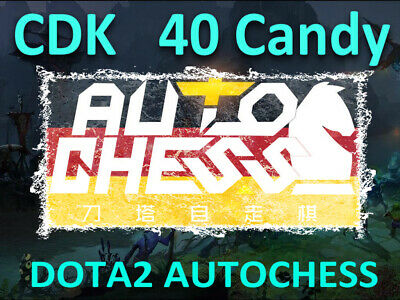 Official AutoChess Auto Chess 🔑CDKEY 40 Candy ⚡Fast Delivery